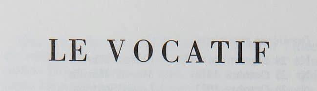 En attendant Nadeau dossier surréalisme Le vocatif