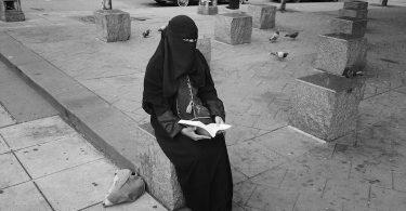 Agnès De Féo, Derrière le niqab