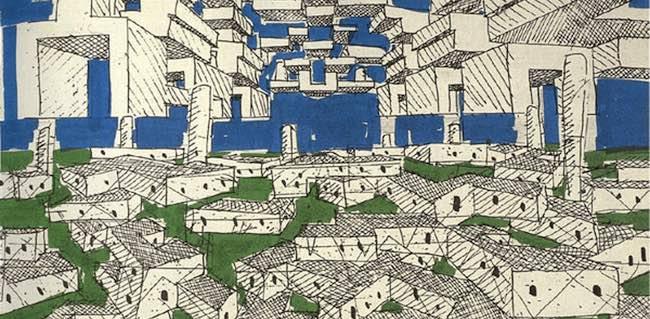 L'architecture mobile, de Yona Friedman : faire une nouvelle ville