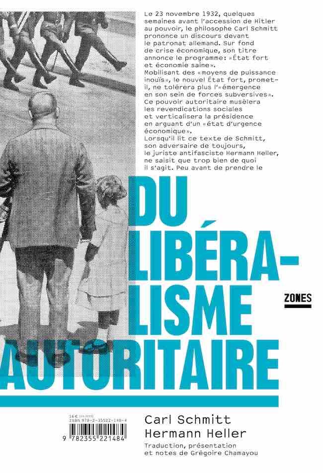 Carl Schmitt, Hermann Heller, Du libéralisme autoritaire