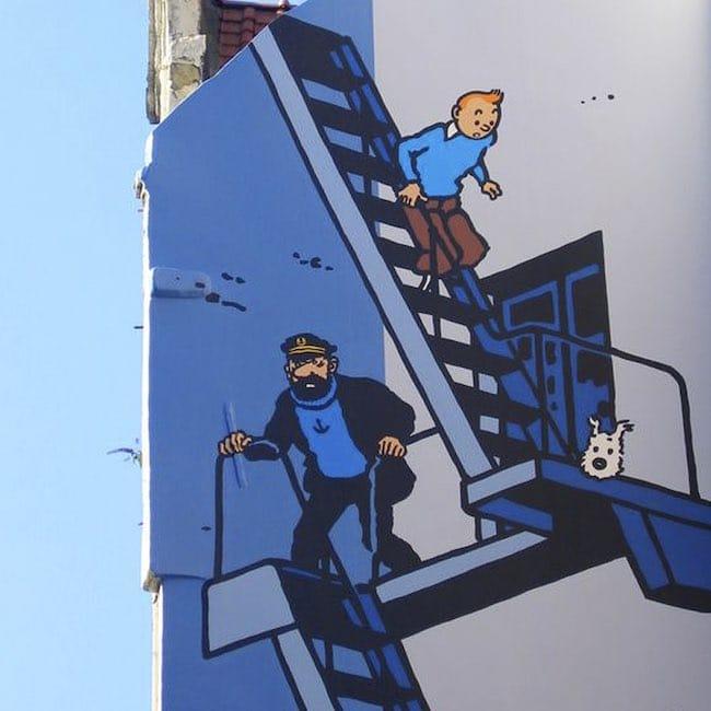 Jacques Langlois, Petit éloge de Tintin et Pierre Bénard, Toujours le nez dans ses Tintin!