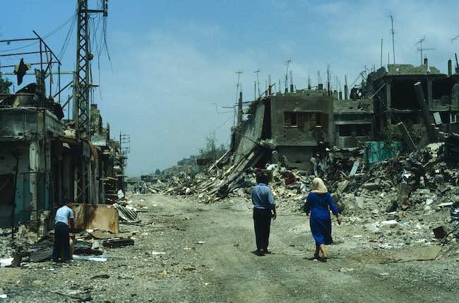 Le Liban en guerre, de Dima De Clerck et Stéphane Malsagne