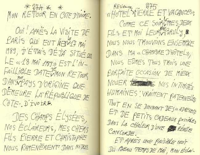 Frédéric Bruly Bouabré : un homme-lumière à Paris