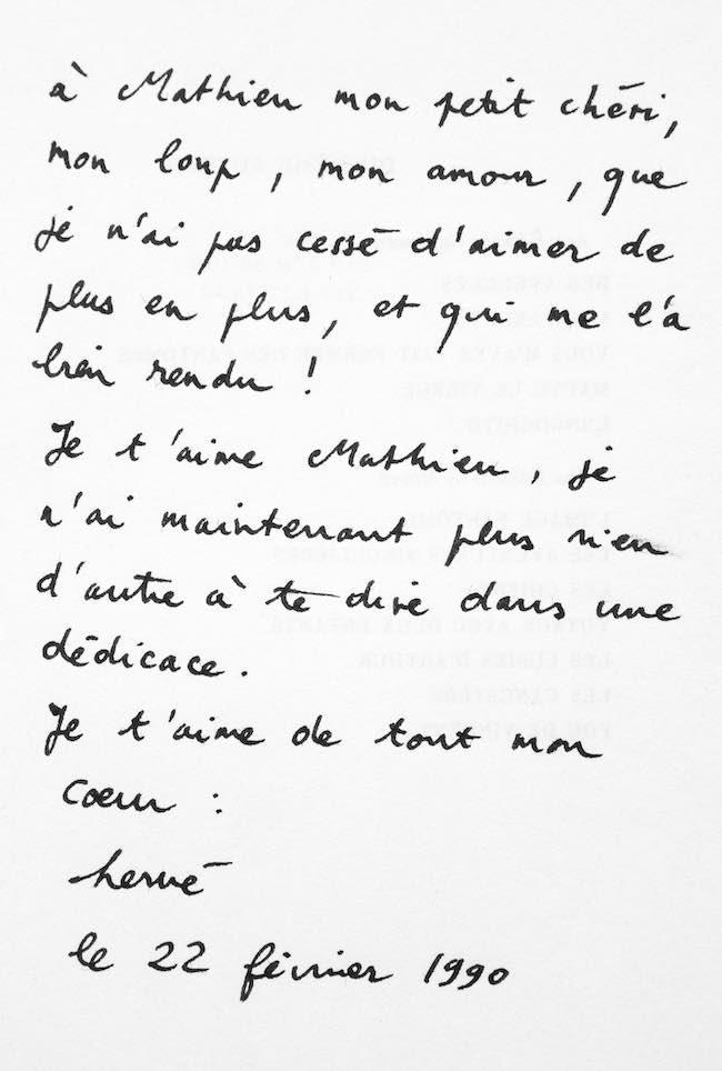 Hervelino, de Mathieu Lindon : archives d'une amitié