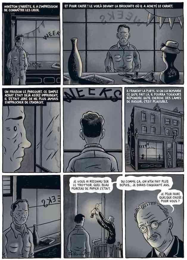 Quatre bandes dessinées mettent le « 1984 » d'Orwell en images