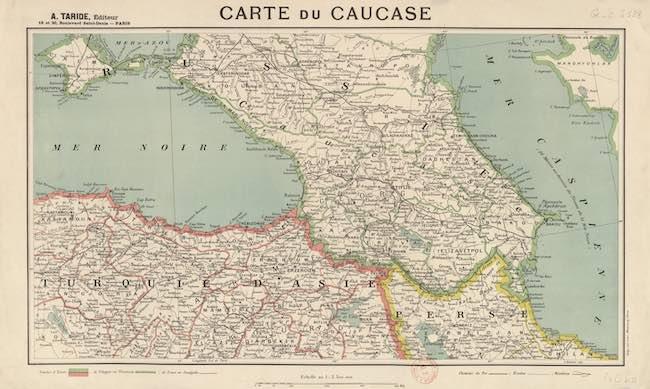 Histoire du Caucase au XXe siècle, d'Étienne Peyrat