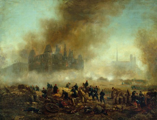 Anticipations sur la Commune de Paris : la Commune après la Commune
