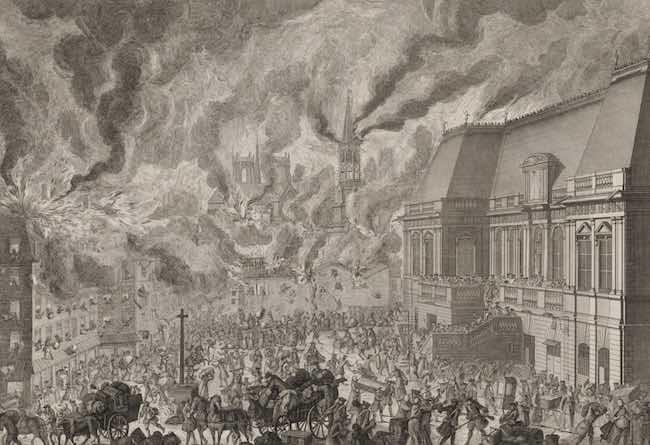 Rennes 1720. L'incendie, de Gauthier Aubert et Georges Provost
