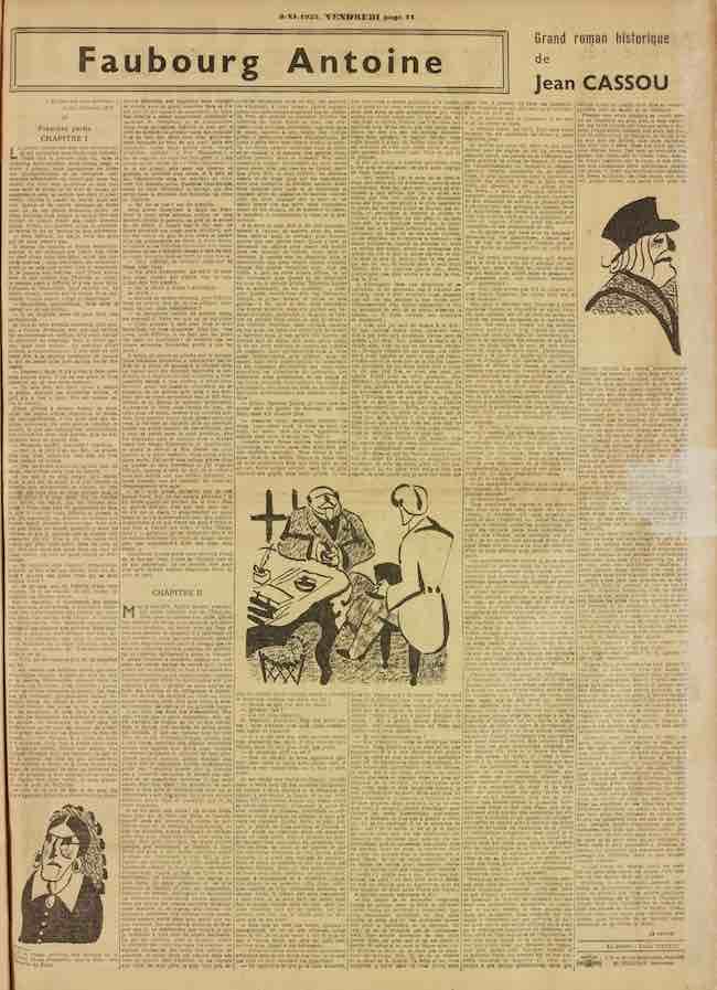 Les massacres de Paris : les révolutions manquées de Jean Cassou