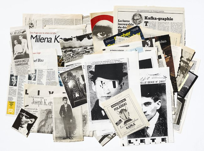 Le Fleuve, de Jean-Michel Alberola : mille Kafka
