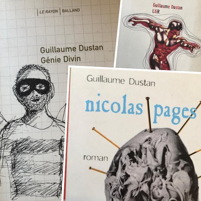 Nicolas Pages, Génie divin, LXiR : Dustan au milieu trash de la vie