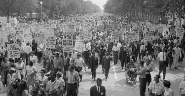 L'historien Thomas C. Holt dans la marche des droits civiques