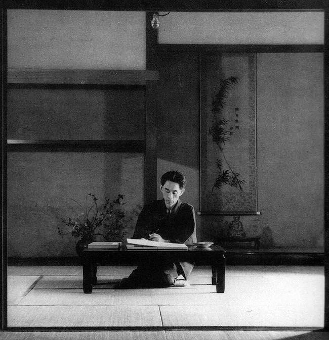 Kawabata Yasunari, un Japonais entre noir et blanc
