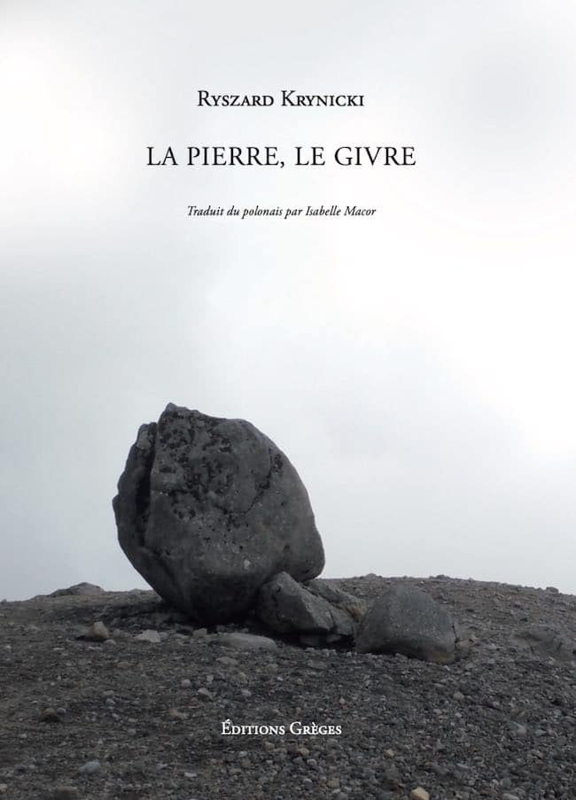 La pierre, le givre, de Ryszard Krynicki : un monde meurtri en poésie