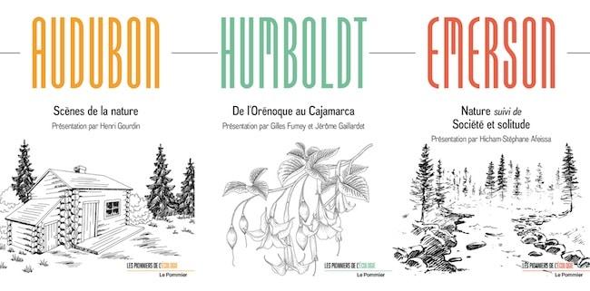 Les pionniers de l'écologie, une collection verte des éditions Le Pommier