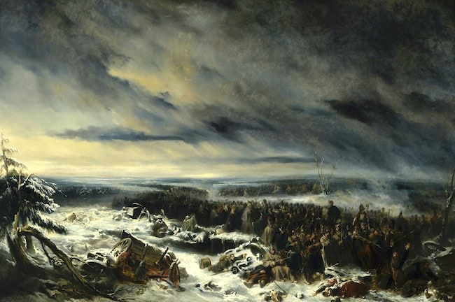 Linceul de neige : dans la retraite de Russie avec le sergent Bourgogne