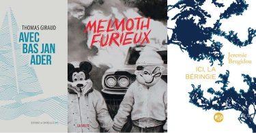 Jeremie Brugidou, Sabrina Calvo, Thomas Giraud : trois romans souples