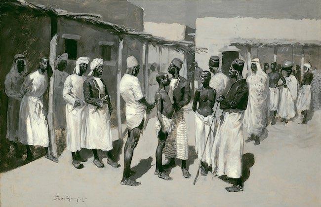 Les mondes de l'esclavage : la question esclave